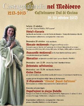 La festa della castagna Toscana