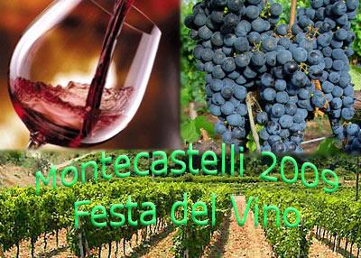 Festa del vino a Montecastelli comune di Castelnuovo v.c.