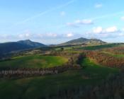 Tuscany landscape Montecastelli pisano