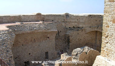 Sebbene non sia stato possibile recuperare tutto alla perfezione, alcuni particolari rendono queste mura vissute per relazionare quella che è la storia alla immagine attuale della fortezza