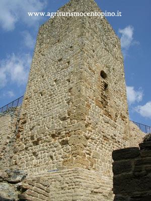La torre della Rocca Sillana