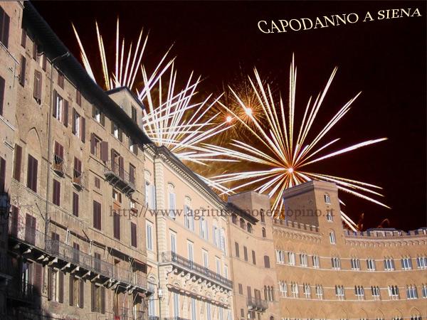 In piazza a Siena eventi di capodanno