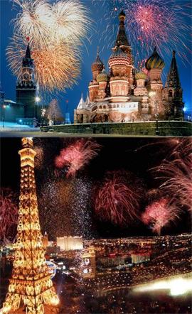 Capodanno in europa