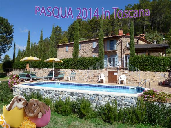 Vacanze pasqua 2014 Villa Toscana