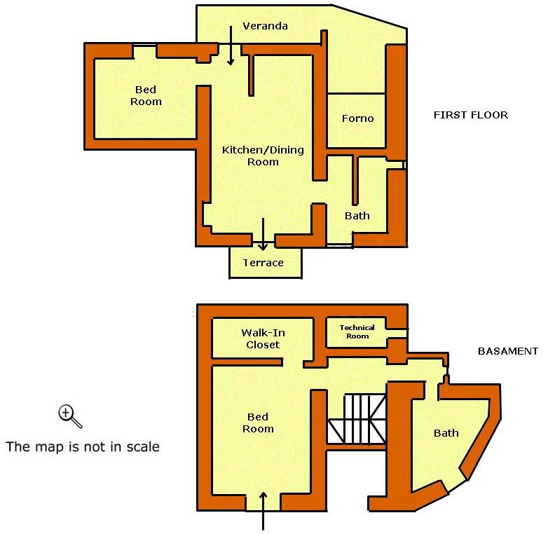 Podere in toscana villa le capanne for 4 piani di camera da letto a due piani