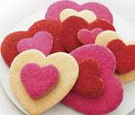 preparazione biscotti san valentino