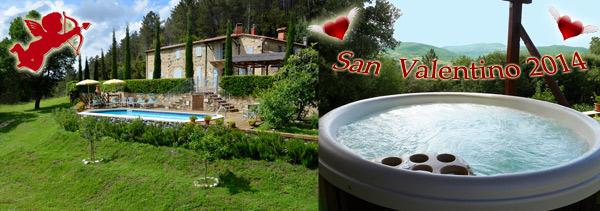 San Valentino 2014 nella Villa in Toscana