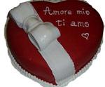 Torta simbolo amore