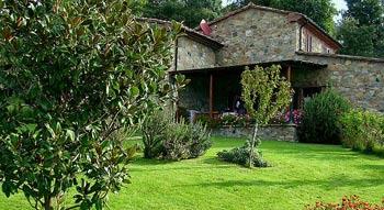 Una villa situata al centro della Regione Toscana