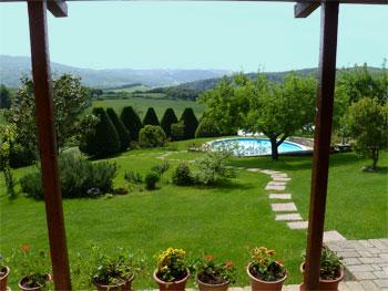 Il verde risplende a luglio in Toscana
