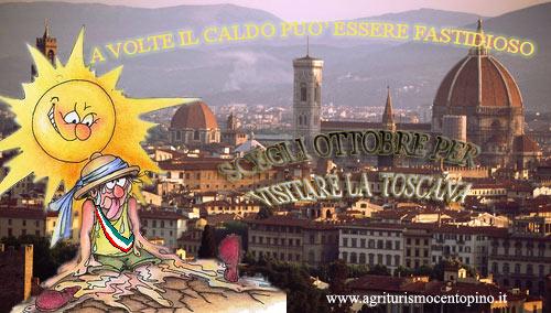 Se anche tu nno sopporti il caldo pernota in Villa Toscana ad ottobre