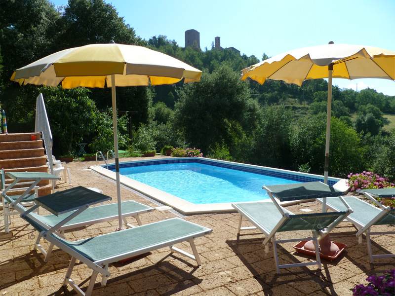 Podere in toscana villa le capanne for Berg piscine toscana