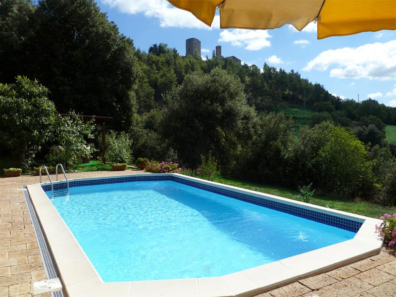 Farm in tuscany villa le capanne for Berg piscine toscana