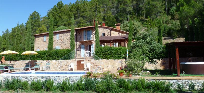 Podere In Toscana Villa Le Capanne