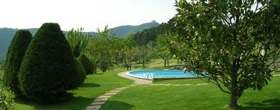 Vacanza e relax nella piscina della Villa nel mese di Settembre 2011