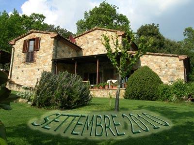 Villa Centopino in Toscana per una vacanza a Settembre 2011